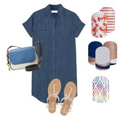 """""""Untitled #69"""" by tiffany-juvelier-farrington on Polyvore featuring beauty, Madewell, FOSSIL and Head Over Heels by Dune Jamberry Party, Dune, Fossil, Madewell, Tiffany, Shoe Bag, Heels, Polyvore, Stuff To Buy"""