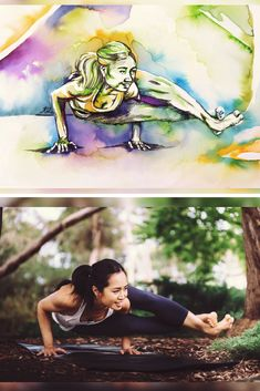 How to add charcoal to negative watercolour yoga paintings for deeper shadows - the art of flying Ap Art Concentration, Aerial Classes, Yoga Painting, Partner Yoga, Pastel Pencils, Chalk Pastels, Yoga Retreat, Diy Art, Watercolor Paintings
