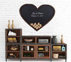 Heart Shaped Guest Book, Drop Box, Shadow Box #weddings @EtsyMktgTool http://etsy.me/2yUPbpy #dropboxguestbook #heartguestbook