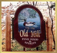 The Old Mill - Enjoy excellent food served in a charming rustic setting