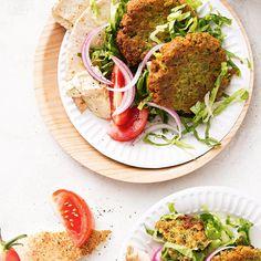 Falafel With Salad & Hummus