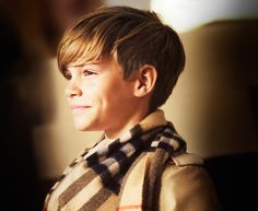 """""""Romeo, Romeo, wherefore art thou, Romeo?"""" Well, this winter, the answer will be billboards, magazines, and Burberry's social media sites since Romeo Beckham has been signed as the face of the British brand's holiday advertising campaign. This is actually the second Burberry campaign for Victoria and David Beckham's 12-year-old son, and when Romeo made his…"""