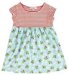 Cath Kidston - Stripe & Strawberry Fields Dress #pinhonest