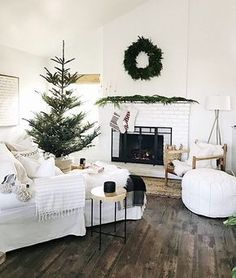 """2,916 Likes, 38 Comments - Patti (@patticakewagner) on Instagram: """"One day we'll get a real tree and I hope it looks as perfect as one of our #BrightWhiteWednesday…"""""""