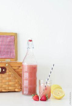 The Best Strawberry Lemonade | FrenchByDesign