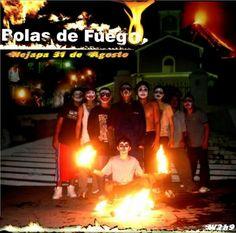 El primer arte. Nejapa. La Recuerda. Bolas de Fuego. El Salvador. Cultura. Extrema. Fire. Fireballs. Festival. San Jerónimo. 31. Agosto