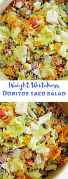 weight watchers doritos taco salad - My Taco Salad Doritos, Taco Salad Recipes, Ww Recipes, Mexican Food Recipes, Cooking Recipes, Healthy Recipes, Low Carb Taco Salad, Chicken Recipes, Recipies