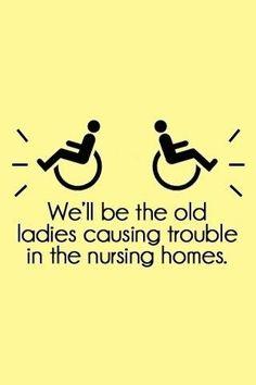 Old ladies @reneemoree @beckyfloyd @brittanymartin