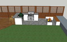 Outdoor Kitchens - Roscoe - Design Outdoors