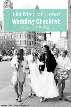 A must-have checklist for all Maids of Honor