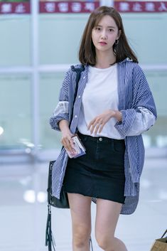 Snsd Airport Fashion, Snsd Fashion, Fashion 2018, Daily Fashion, Everyday Fashion, Korean Fashion, Fashion Outfits, Womens Fashion, Travel Outfits