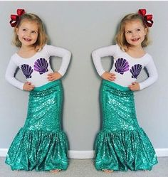 "SEASHELL MERMAID COSTUME PRICE $14.99 OPTIONS: 2T, 3T, 4T, 5, 6 To purchase: comment ""sold"", size & email"