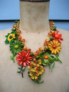 wonderful brooch necklace