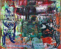 Abstract Painting (939-6), 2015 Oil on canvas, 58×72cm ©Gerhard Richter, courtesy of WAKO WORKS OF ART