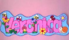 Oo Foam Crafts, Arts And Crafts, Name Plaques, Foam Sheets, Zen, Princess Peach, Alphabet, Banner, Wall Decor