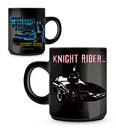 "Knight Rider Mug -""What Happens in my Backseat…"" - Only £7!!"