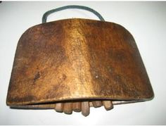 antique cow bells - Google Search. Wooden