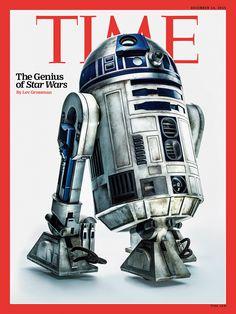 Time Magazine - Star Wars Photoshoot - R2-D2