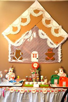 Gingerbread house decorating party!