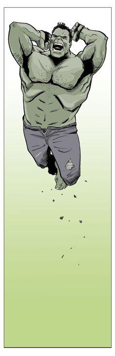 Hulk by artist Ibrahim Moustafa