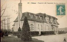 Chateau St. Louis | Poissy, France residence of William K. Vanderbilt.