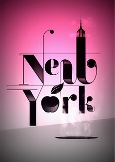 Empire State of Mind NYC City Quotes, Empire State Of Mind, Typography Inspiration, City Girl, Graphic Design Typography, Vs Pink, New York City, Inspirational Quotes, Nyc