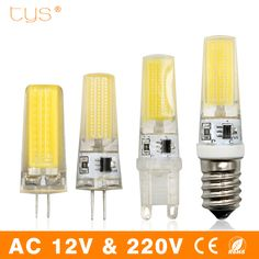 Light Bulbs G4 Led Crystal Bulb Silicone Lamp 12v Ac Dc 3 6w Cob Smd Capsule Lights Bright Ebay Home Garden Products Fluorescent Lamp Lighting Light