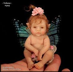 Weefairytales Fairies Fae OOAK Art Doll Baby Fairy Sculpture   eBay