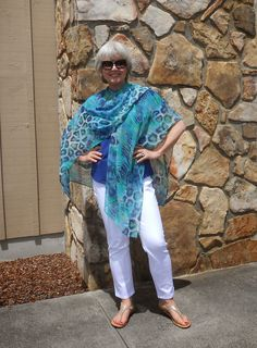 Fifty, not Frumpy: Ruanas Are Great For Warm Weather