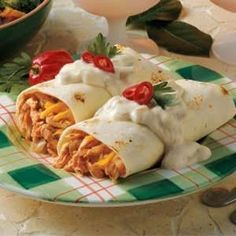 Baked Chimichangas by shauna