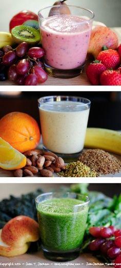 <3 Breakfast Ideas