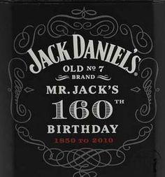 Reason to celebrate - Mr Jack 160th Birthday