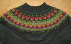 One day, I shall make this Bohus Stickning traditional Wild Apple pattern, with the yarns dyed by the original designer. Knitting history is alive!