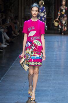Dolce & Gabbana Spring 2016 Ready-to-Wear Fashion Show - Irina Shnitman