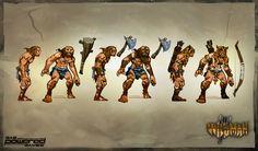 Wildman concept art. Support Wildman on Kickstarter! Save GPG! http://www.kickstarter.com/projects/gaspoweredgames/wildman-an-evolutionary-action-rpg