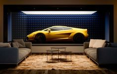 Why this supercar capsule is far from your average garage - Architectural Digest Middle East Old Garage, Garage House, Dream Garage, Garage Cafe, Volvo Xc90, Audi A8, Rolls Royce, Luxury Cars, Luxury Homes