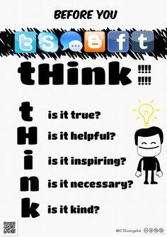 Mr. Kirsch's ICT Class Blog | Digital Citizenship & a poster for your school