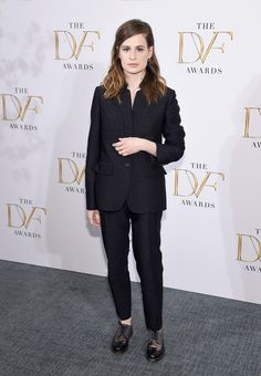 Christine And The Queens Photos - Héloïse Letissier of Christine and the Queens attends the 2015 DVF Awards at United Nations on April 2015 in New York City. - The 2015 DVF Awards Vanity Fair, Christine And The Queens, Suit Shoes, Queen Photos, I Am A Queen, Mode Style, Latest Trends, Celebrity Style, Awards