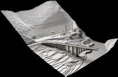 Eduardo Souto Moura /// Edifício do Aproveitamento Hidroelétrico @ Foz Tua, Portugal