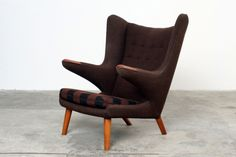 Papa Bear Armchair by Hans J Wegner