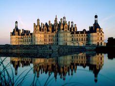 Франция Landscapes, New York Skyline, River, Chambord, Architecture, Paisajes, Scenery, Rivers