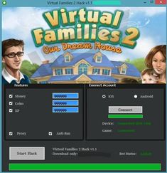 Virtual Families 2 Hack – iOS& Cheat Engine for including boundless Money, XP and Coins Begin utilizing this new Virtual Families 2 Hack… Virtual Families 2 Cheats, Glitch, Cheat Engine, Ios, Android, Game Update, Website Features, Free Games