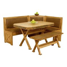 Sedona Dining Set in Rustic Oak | Nebraska Furniture Mart