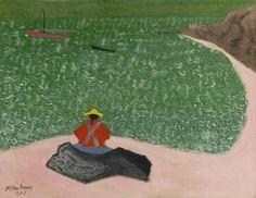 Milton Avery (American, 1885-1965), Raymond's Beach, 1944. Oil on canvas, 70.5 x 90.8 cm.