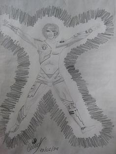Adaptação do Homem Renascentista de Leonardo DaVinci