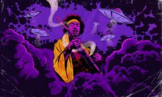 """Fifty years ago, Hendrix combined his longtime love of sci-fi with his guitar-shredding abilities on """"Purple Haze,"""" blasting him into the stratosphere of superstardom."""