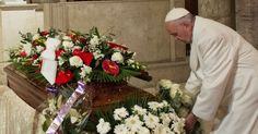 02/27/2016 - Grieving Pope Francis brings 12 white roses to seven-months pregnant secretary found dead in her apartment - a papal style warning?