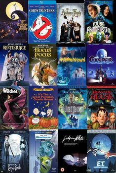 List of Best Halloween Movies for Your Kids to WatchYou can find Spooky halloween and more on our website.List of Best Halloween Movies for Your Kids to Watch Halloween Tags, Halloween Movie Night, Best Halloween Movies, Fröhliches Halloween, Holidays Halloween, Halloween Decorations, Halloween Costumes, Kid Friendly Halloween Movies, Halloween Movies For Tweens