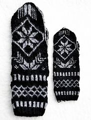 Ravelry: Maid Agnes' mittens/Pigan Agnes vantar pattern by Ann Linderhjelm