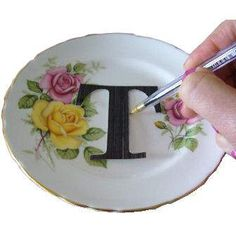 If you have vintage china, here are some great ideas on upcycling it.
